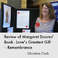 Book Review: Margaret Doores' Love's Greatest Gift – Remembrance