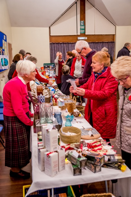 Fairtrade evening at St. Martin in the Wood church in Nov 2018.