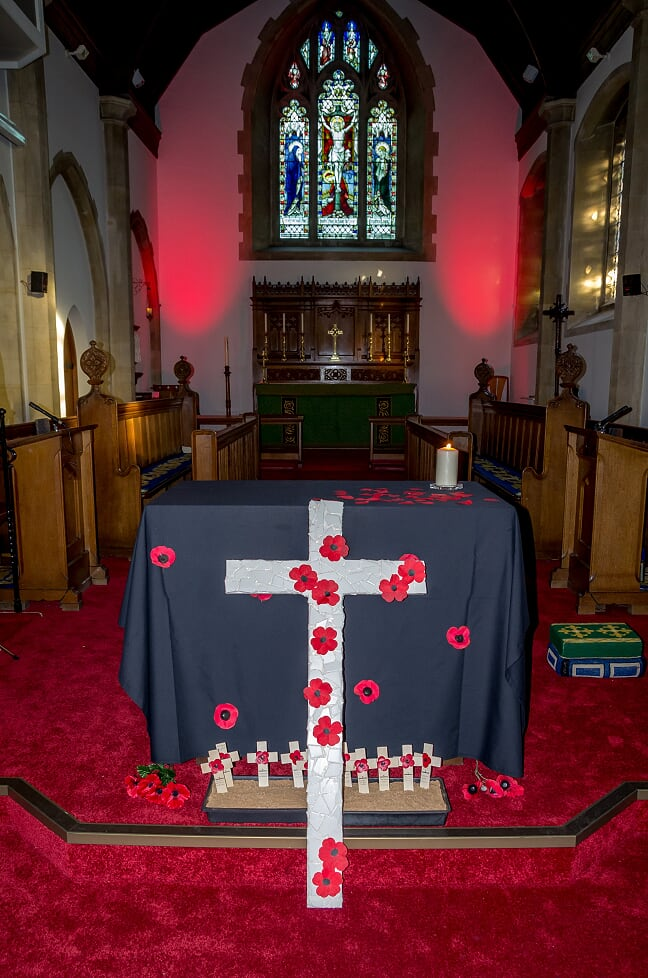 Remembrance at St. Boniface Church, 2018. Image credit: Debbie Pearce Photography
