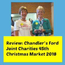 Review: Chandler's Ford Joint Charities 45th Christmas Market 2018