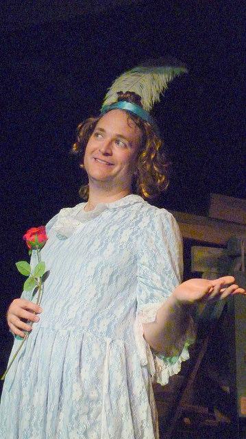 The beautiful Georgina - played by Matt Costen