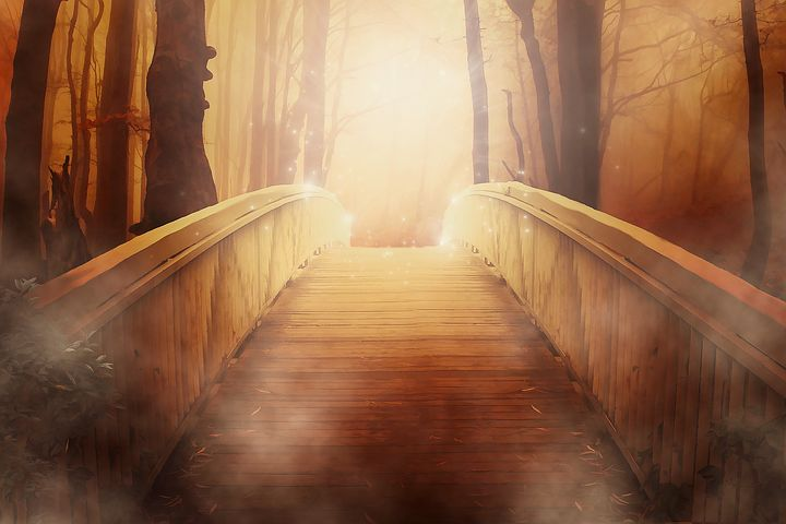 There is something almost mystical here - Pixabay image
