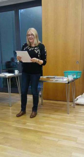 It was a real treat to finally meet Amanda Huggins and to hear her story - image by Allison Symes