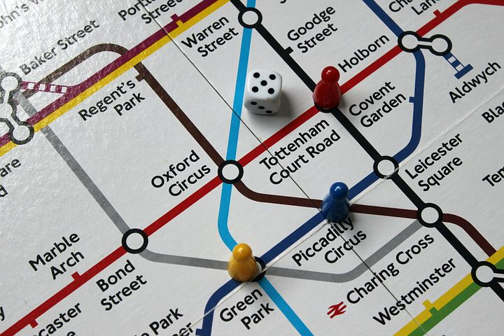 The London tube map is a work of art (and recognised as one now) - Pixabay image