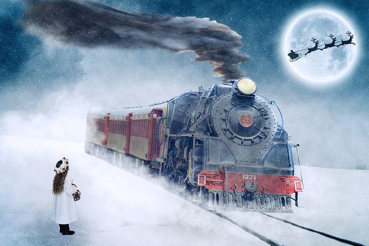 This reminds me of The Polar Express - Pixabay image