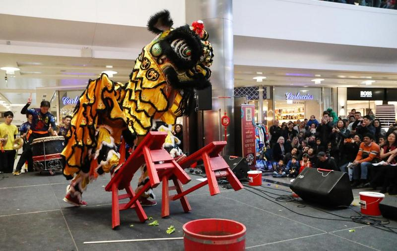 Lion Dance. Image by Chinese Association of Southampton