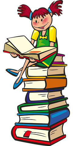 This IS what I call a reading pile - Pixabay