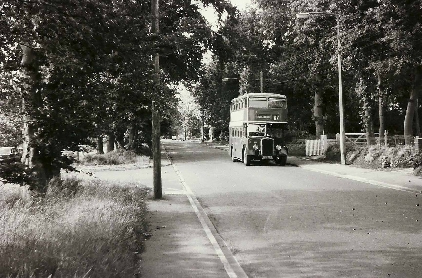 Do you remember the Hants & Dorset 87 route?