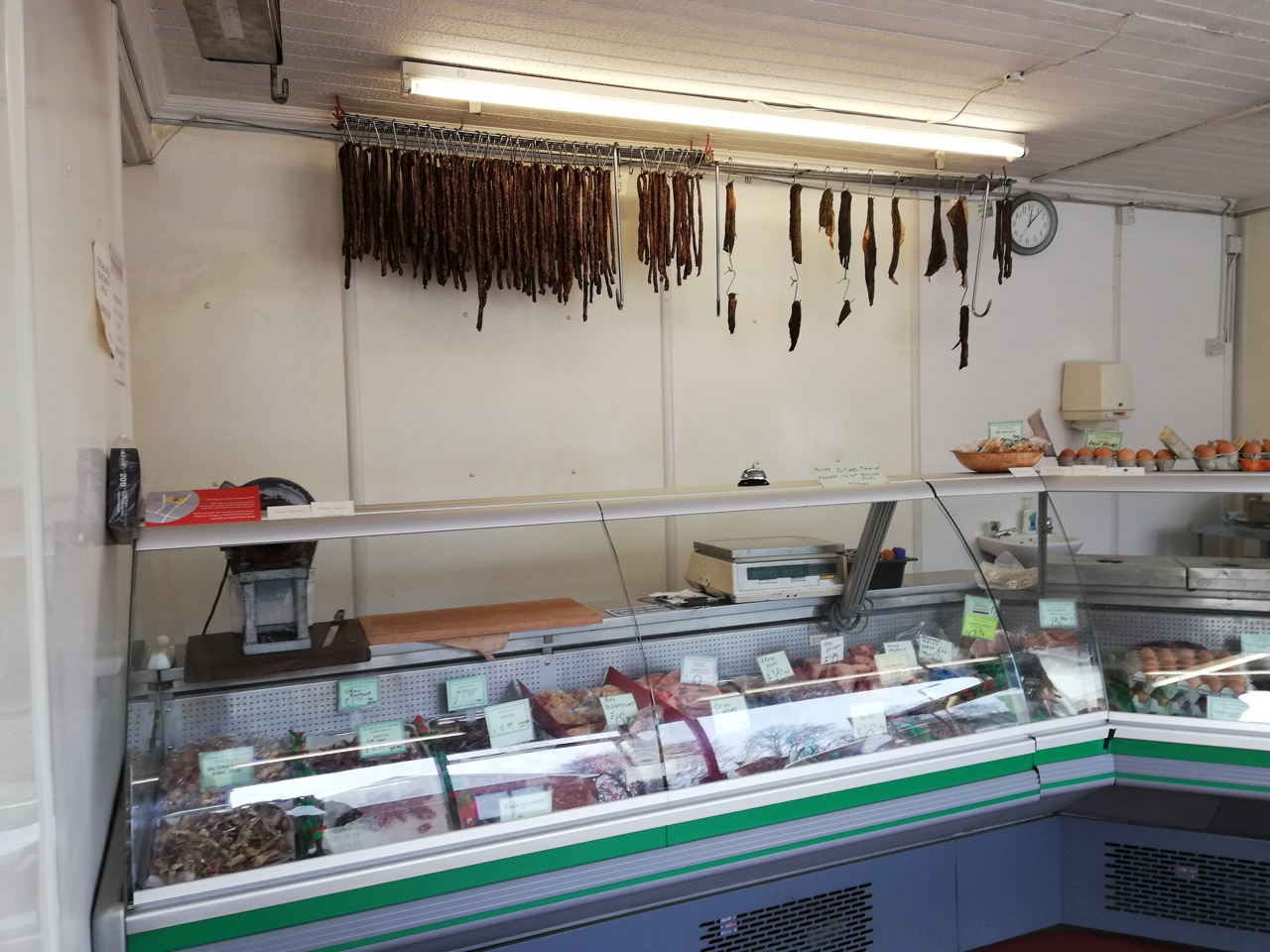 Charles Baynham is famous for its biltong.