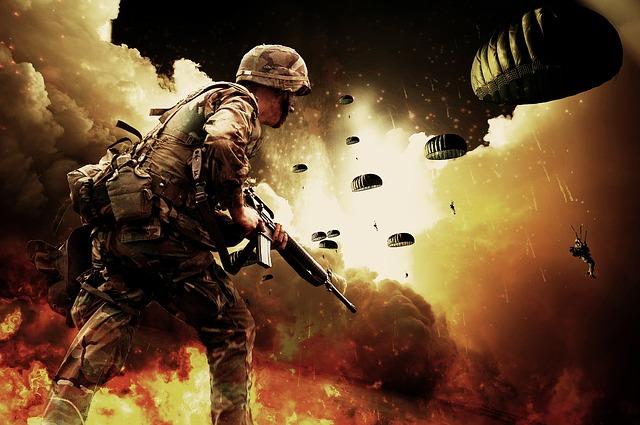 war by pixelman via Pixabay