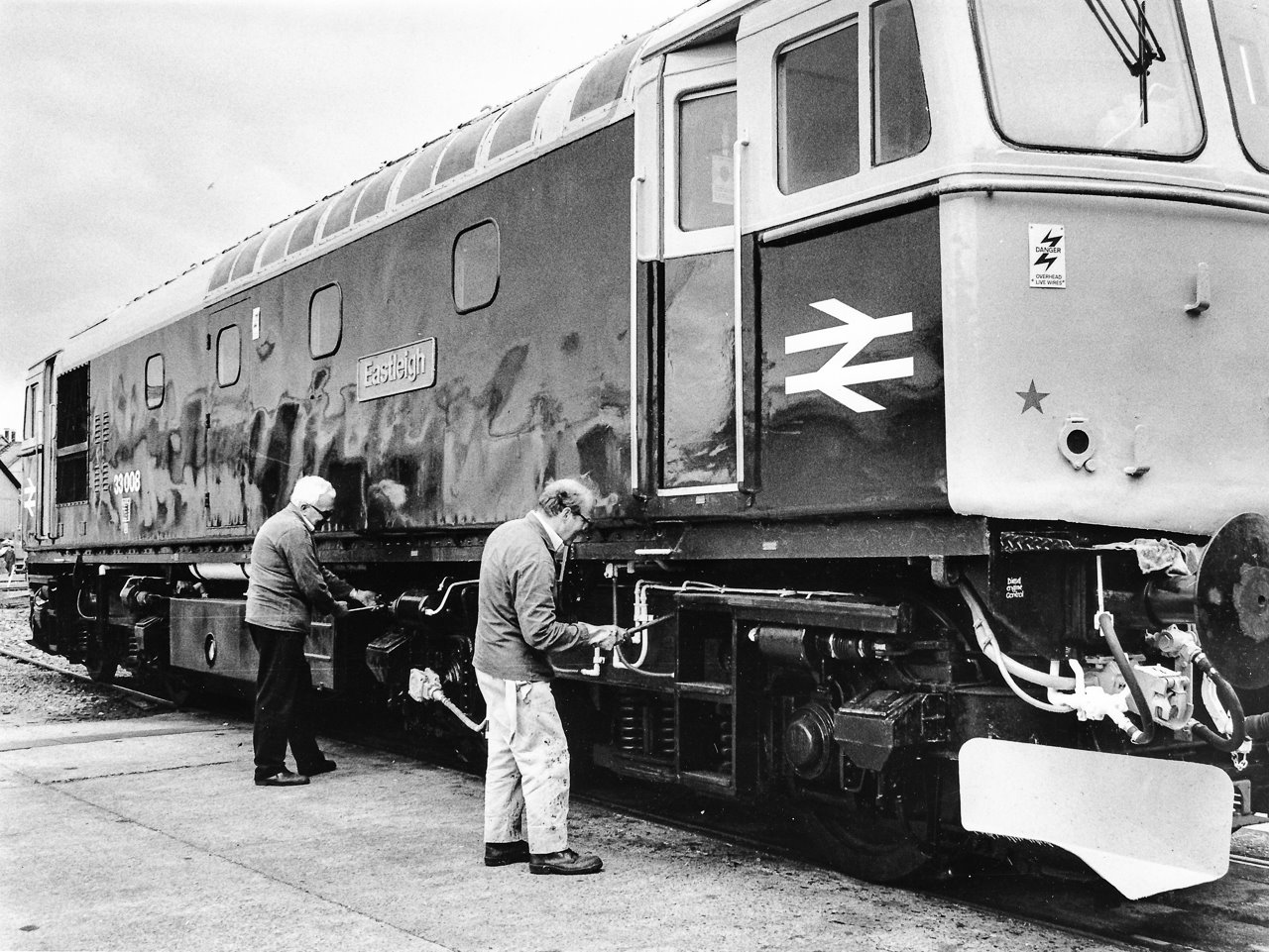 Love train? Tell us your memories. Image via Eastleigh and District Local History Society.