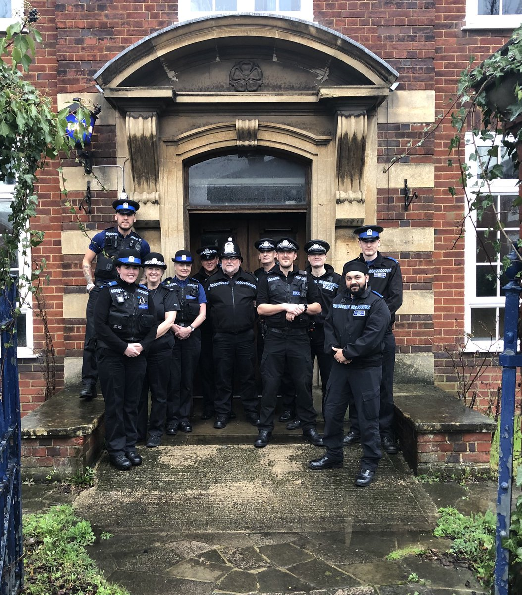 The last ever shift to work at the historic Eastleigh Police Station