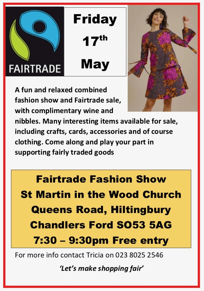 Fairtrade event 17th of May Friday