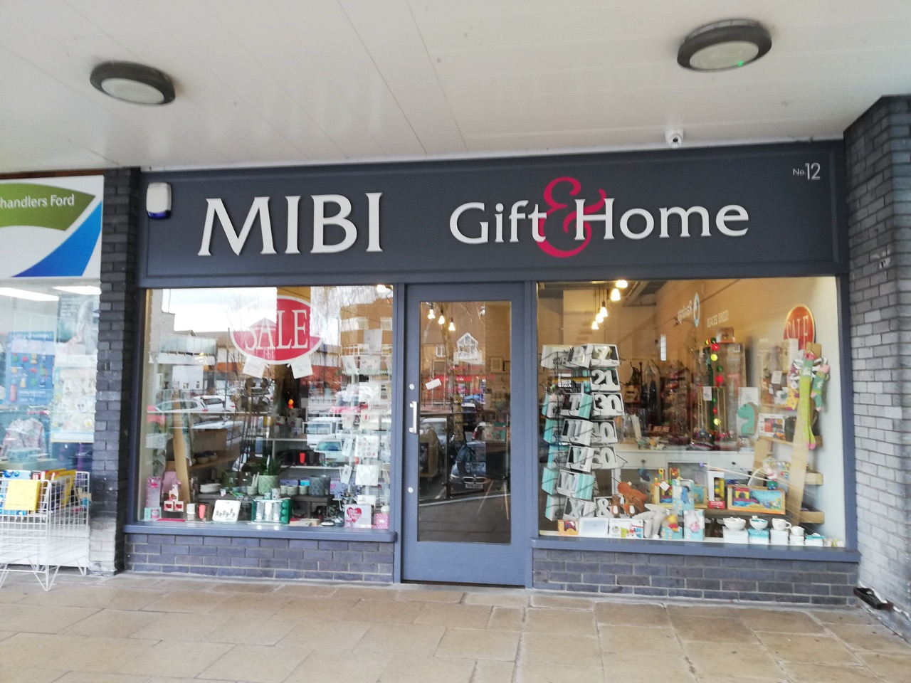 Mibi shop in Chandler's Ford