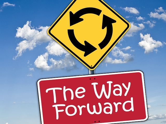 As with so much in life, sometimes you need to find your own way forward