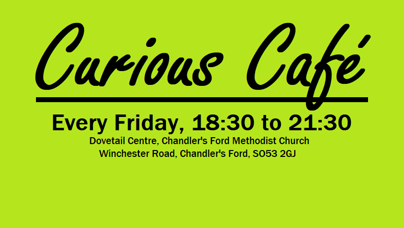 Curious Cafe at Dovetail Centre, Chandler's Ford Methodist Church