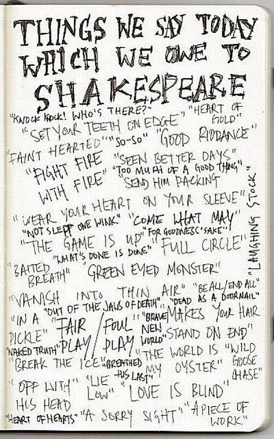Sayings we owe to Shakespeare - Image via TRF_Mr_Hyde on Flickr