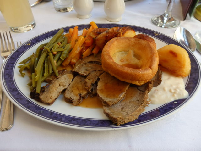 main course - beef