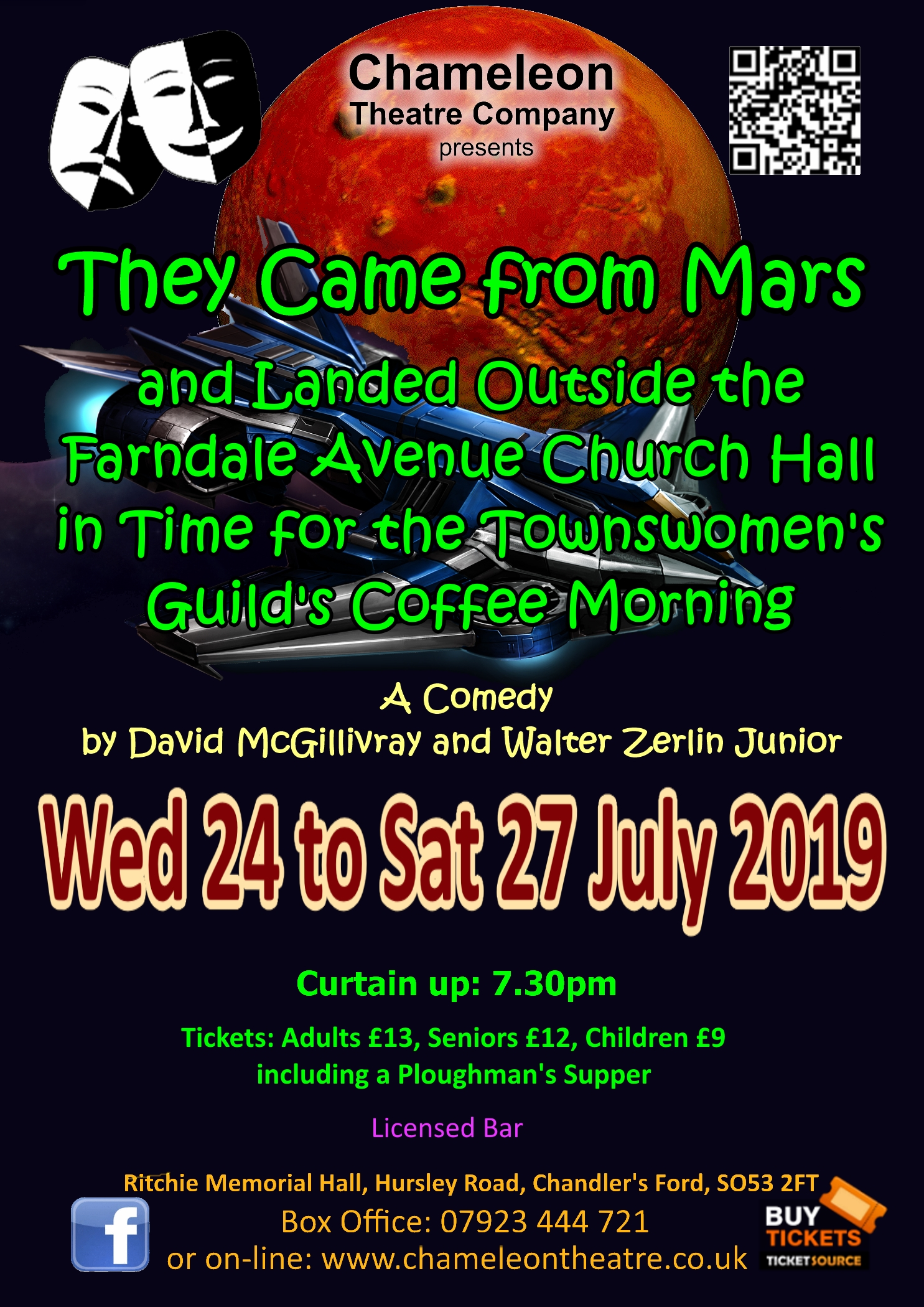 They Came from Mars and Landed Outside the Farndale Avenue Church Hall in Time for the Townswomen's Guild's Coffee Morning