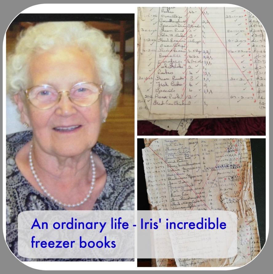 An ordinary life - Iris' incredible freezer books