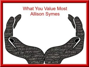 Feature Image - What You Value Most