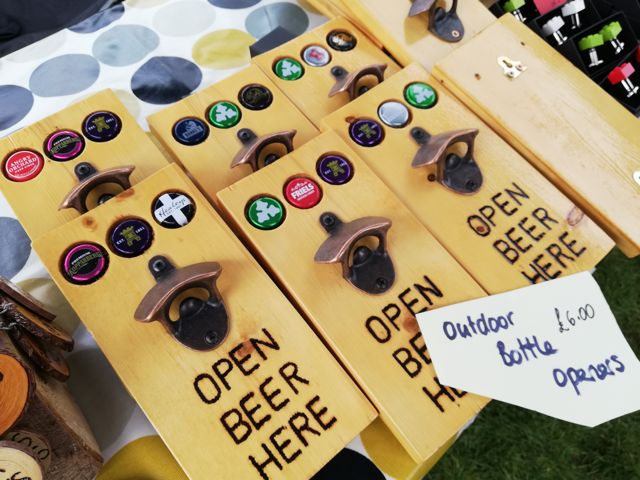 Supporting Chandler's Ford Scouts. You can buy these beer bottle openers - these make great gifts!