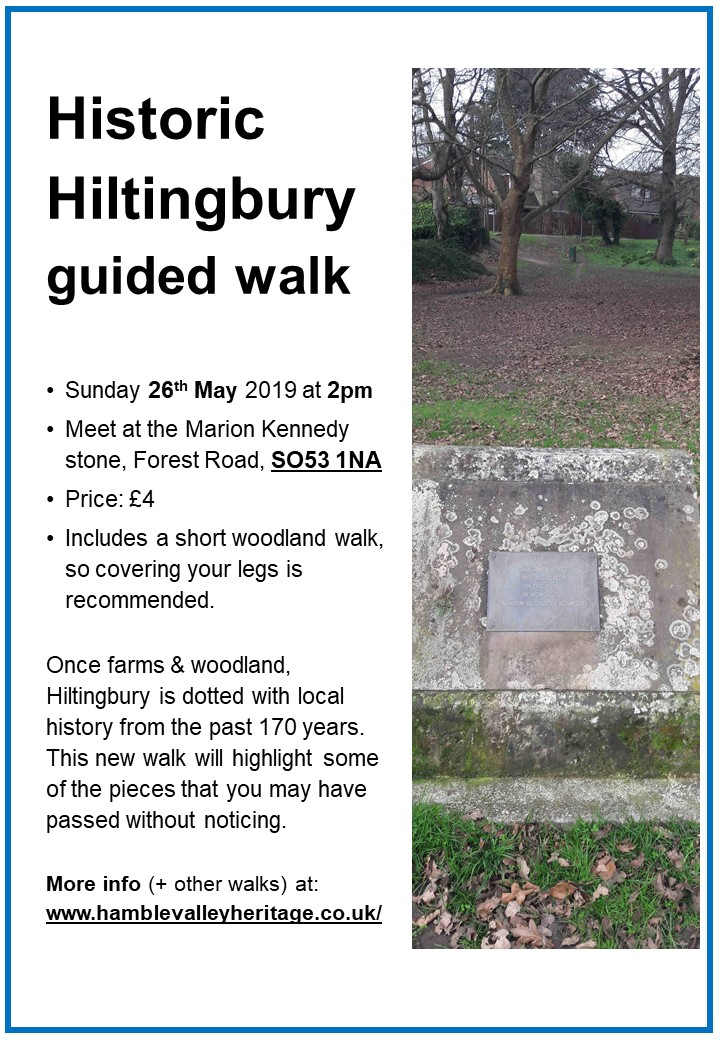 Historic Hiltingbury Guided Walk