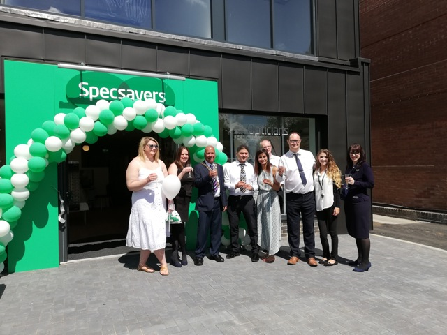 Specsavers Chandler's Ford officially open on 25th May 2019