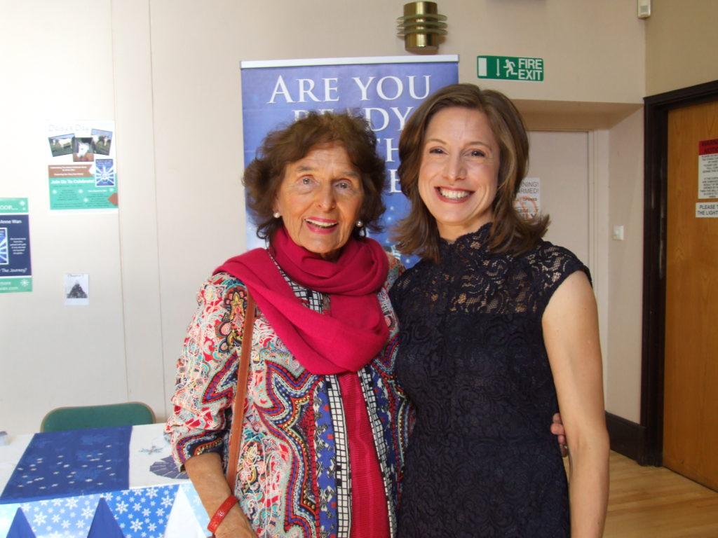 Barbara Large and Anne Wan