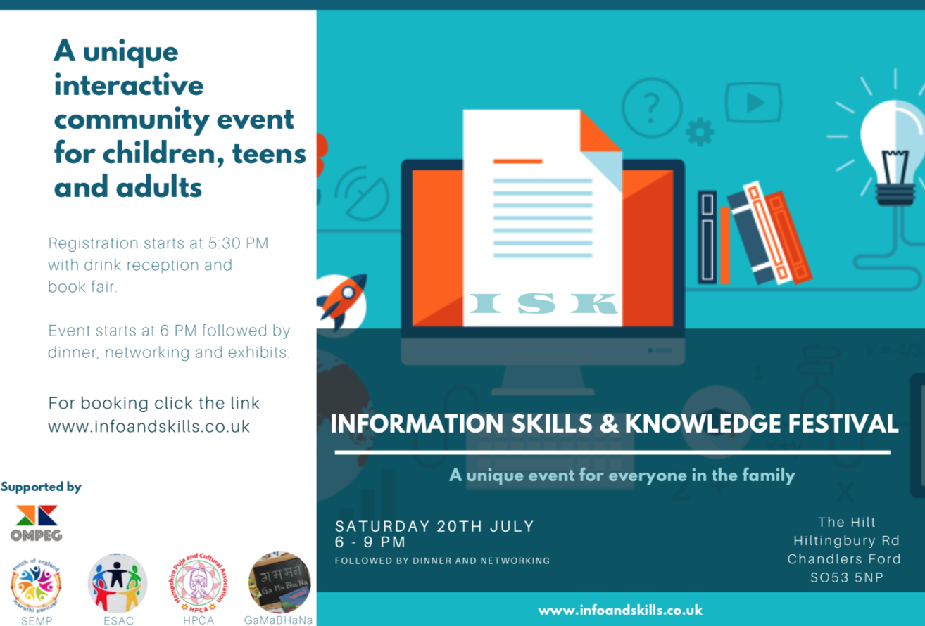 Informatio, skills and knowledge event