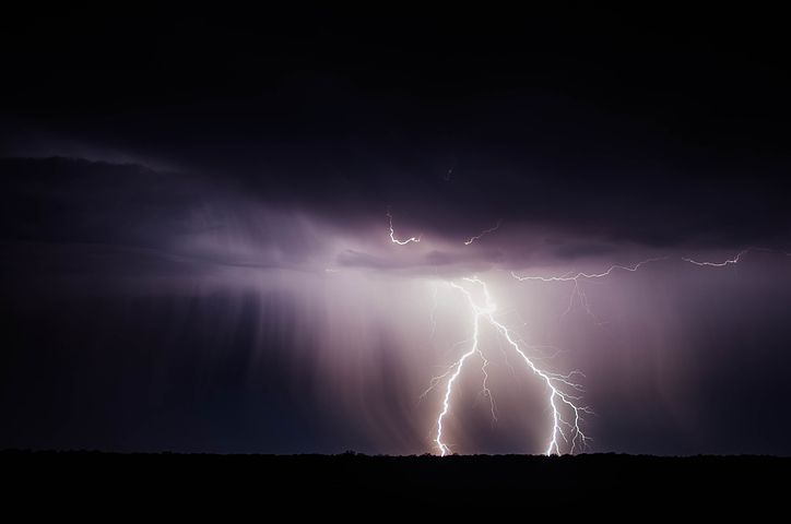 It may well have been a dark and stormy night but best avoided in fiction, use the weather to show something about your character instead - Pixabay