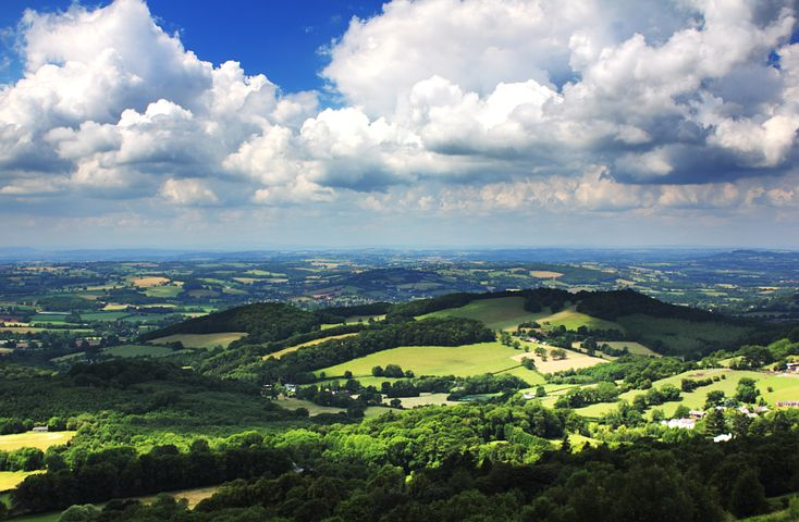 The Malverns were a favourite space for Elgar