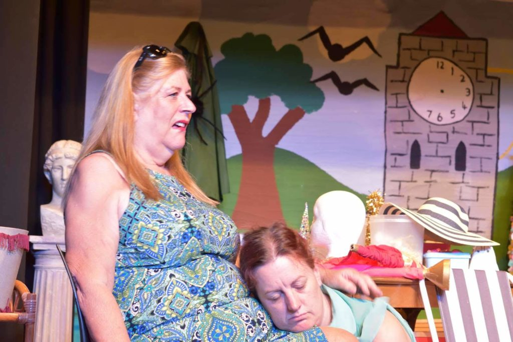 Thelma is not happy having to prop up Norah, for one thing it means coming out of character