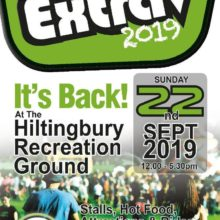 Hiltingbury Extravaganza - 22nd September from 12 noon