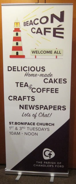 Beacon Cafe, St. Boniface Church, Chandler's Ford.