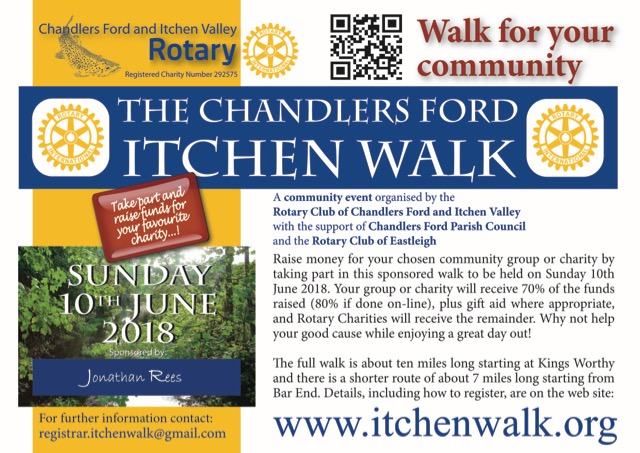 Chandler's Ford Itchen Walk 2018