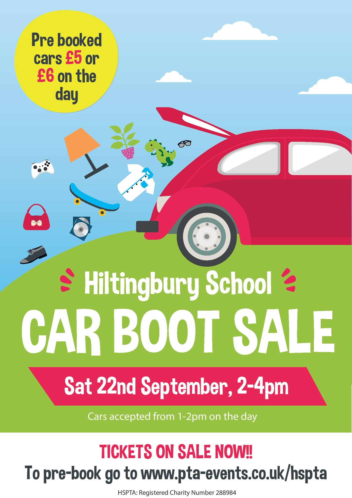 Hiltingbury school car boot sale