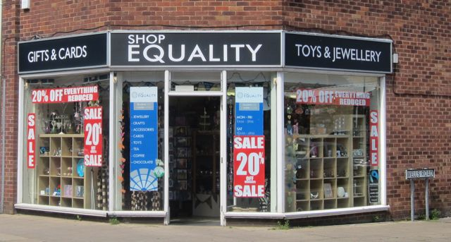 Shop Equality Eastleigh Wells Road