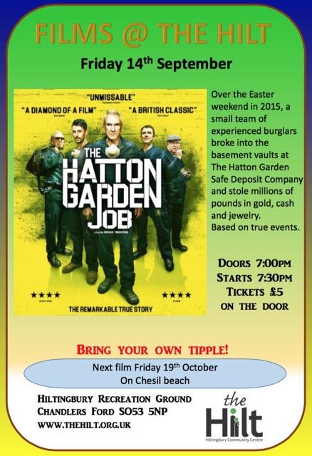 The Hilt film 14th September