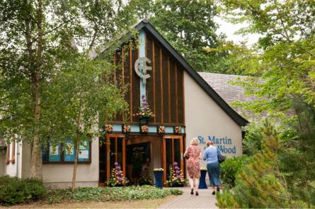 St. Martin in the Wood church, Queens Road, Hiltingbury.