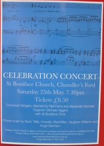 St. boniface concert