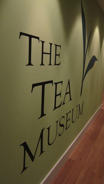The best kept secret in Chandler's Ford - The Tea Museum at Ahmad Tea, in Chandler's Ford.