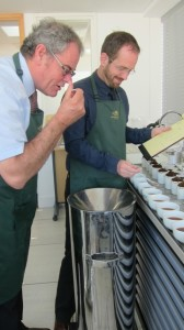 William and Dominic: tasting and recording