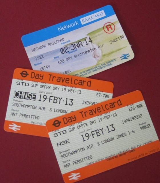 South West Trains tickets to London