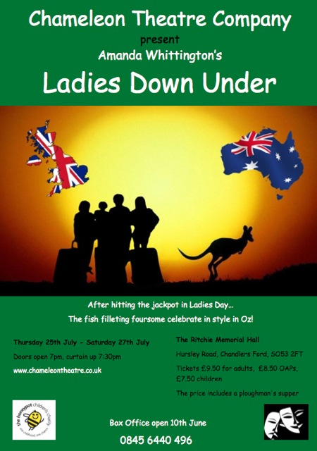 Ladies Down Under by Amanda Whittington
