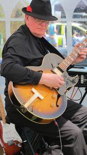 Musician David Tripp at Fryern Funtasia 2013