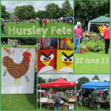 Hursley Fete 22 June 2013, with John Keble School, and All Saints' Church