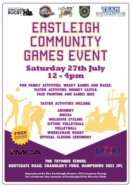 Eastleigh Community Games