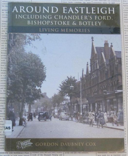 Around Eastleigh - book by Gordon Daubney Cox