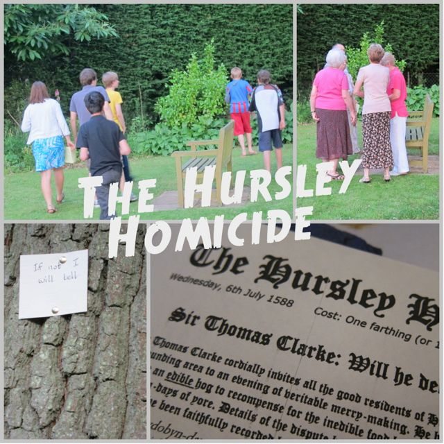 Murder Mystery in Chandler's Ford, at St. Martin in the Wood. By Mystery in History.